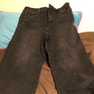 Ralph Lauren crop wide leg jeans